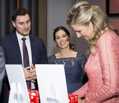 Aircrete Europe executives meet Prime Minister Rutte and Her Majesty Queen Máxima of the Netherlands