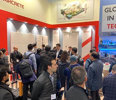 Aircrete Hybrid Model great success at bauma 2019!