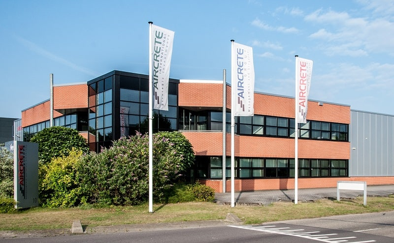 Aircrete Headquarters in Oldenzaal