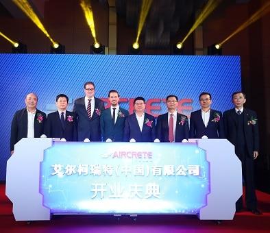 Aircrete China: un bureau local pour capturer de manière optimale le grand potentiel de croissance