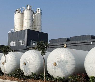 Строительство нового завода по производству АГБ панелей в Китае